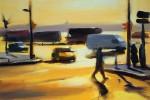 Street Scene, Morning