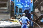 Naples:Fishmonger