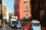 Naples:Street with Three-Wheeler
