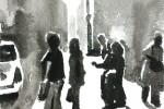 Naples:Talking and Smoking